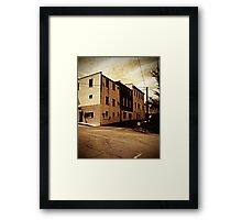 Corner in Mars Hill Framed Print