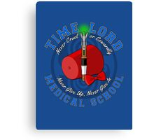 Time Lord Medical School 11 Canvas Print