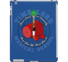 Time Lord Medical School 11 iPad Case/Skin
