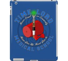 Time Lord Medical School 11 iPad Case/Skin