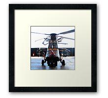ARH Tigar Helicopter - Austrailan Army  Framed Print