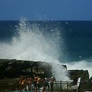 Crashing waves, Queenscliff, Sydney, Australia  by Samantha  Goode