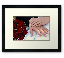 ~Two Hands One Heart~ Framed Print