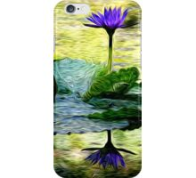 Spring Swirlings 2 iPhone Case/Skin
