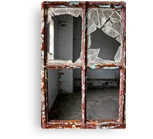 Kings Park Psychiatric Center -  looking in Canvas Print
