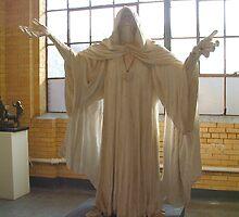 Druid Priest (by Alan Cottrill) by WonderlandGlass