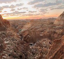 Window to the Badlands by SandraNightski
