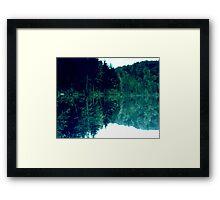 A Study in Green Framed Print