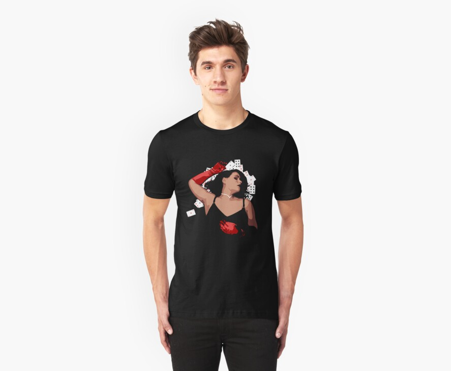 Lady Luck Tee by Joshua Smith