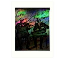 Old Timers Art Print