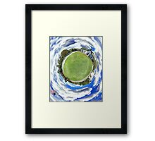 Ashawagh Hall 360 Degree Panoramic Framed Print