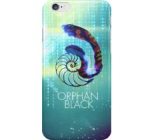 ORPHAN BLACK // GOLDEN RATIO SHELL iPhone Case/Skin