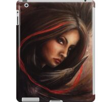 Lifeline - Lady with a Black Heron iPad Case/Skin