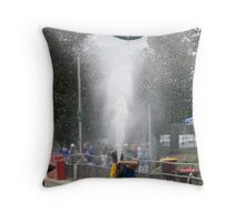 Wet Work Throw Pillow