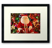 Ho - Ho - Ho Framed Print