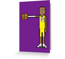 8Bit Kobe Bryant Greeting Card