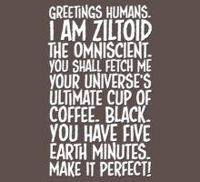 Greetings Humans! White by VanHogTrio