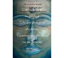 concentrate the mind - buddha © 2008 patricia vannucci  Photographic Print