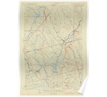 Maine USGS Historical Map Wytopitlock 306857 1943 62500 Poster