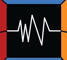 Black Square, Lines and Colours by Olivier Deschamps-Band