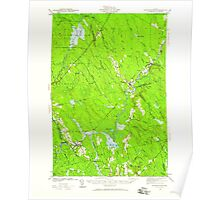 Maine USGS Historical Map Wytopitlock 461042 1941 62500 Poster