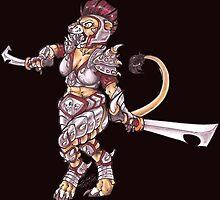 warrior by Katunu