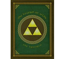 Celtic Triforce Photographic Print