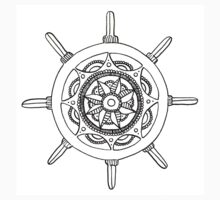 Nautical Mandala Kids Clothes