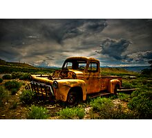 Old Truck Photographic Print
