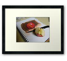 Hungry Artist Framed Print