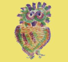 Purple Owl Kids Clothes