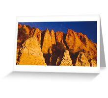 Cliffs at Half Moon Bay Greeting Card