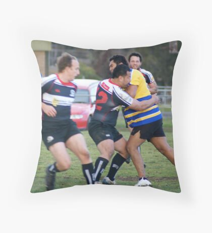 Big Hitters Throw Pillow