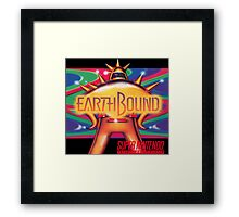 Earthbound & Down Framed Print