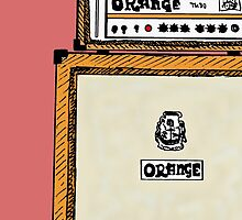 Orange Stack by charlieorourke