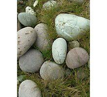 Stones on Achill Island, Mayo Ireland Photographic Print