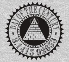 Pyramid Pi Day of the Century Illuminati T-Shirt
