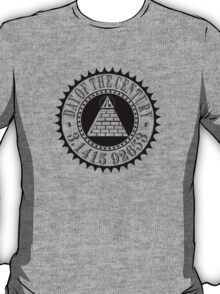 Pyramid Pi Day of the Century Illuminati T-Shirt