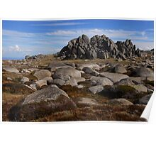 Wide angle heaven - Ramshead. Poster
