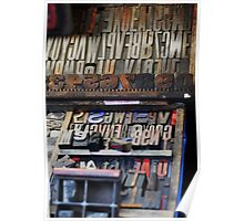 Art of the Printed Word Poster
