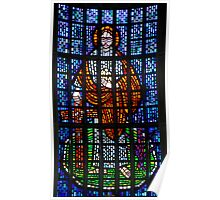 St Philip: Stained Glass Window Poster