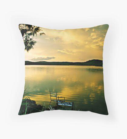 REALISE THE WORLD AROUND YOU Throw Pillow