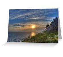 Sunrise - Lennox Head, Australia Greeting Card
