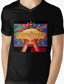 Earthbound & Down Mens V-Neck T-Shirt