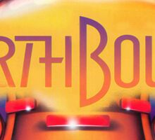 Earthbound & Down Sticker