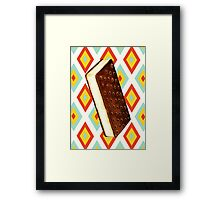 Ice Cream Sandwich Framed Print