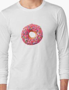 Pink Donut Long Sleeve T-Shirt
