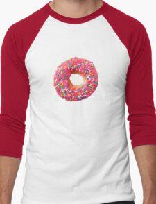 Pink Donut Men's Baseball ¾ T-Shirt