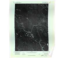 Maine USGS Historical Map Wytopitlock SW 807331 1975 24000 Poster