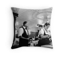 Life Inside the Augustiner Throw Pillow